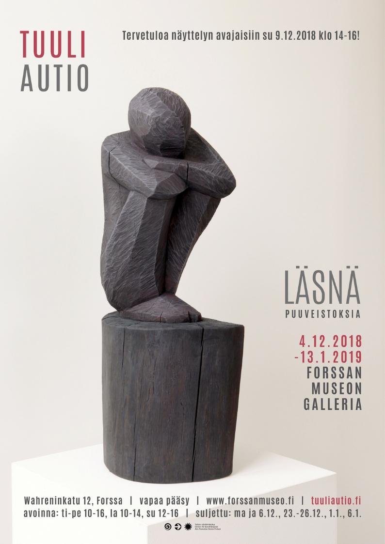 Läsnä - Tuuli Autio Forssan museon galleriassa, näyttelykutsu