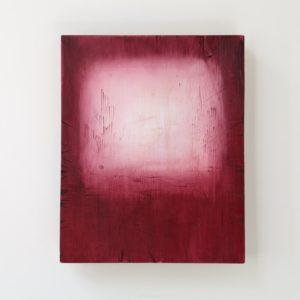 Intuitio, 2021, kuusi, öljyväri, 39 x 27 x 3 cm