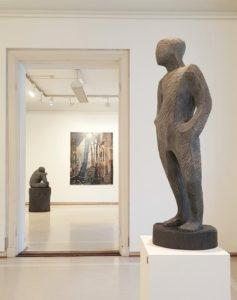 Metsän katedraalissa -näyttely Galleria Saskiassa maaliskuussa 2018